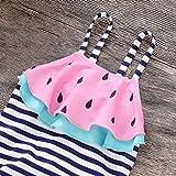 sunnymi 0-4 Jahre Kinder Mädchen Bademode Wassermelone Sommer Badeanzug Badestrand Strampler