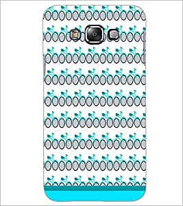 PrintDhaba Cycle Pattern D-1482 Back Case Cover for SAMSUNG GALAXY A7 (Multi-Coloured)