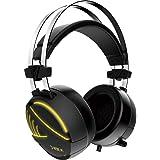GAMDIAS Hebe M1 RGB Cuffie Gaming Usb Headset Con Microfono E Audio Sorround 7.1, Altoparlanti 50mm, Ergonomico