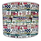 Premier Lampshades paralume da soffitto bambini Patchwork 9, 30,5 cm