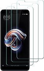 [3 Pack] Vetro Temperato Xiaomi Redmi Note 5, Hepooya Pellicole Protettive in Vetro Temperato per Xiaomi Redmi Note 5 Proteggi Schermo , HD Alta Trasparenza, Anti-olio, Anti-macchia, Anti-graffio, Anti-impronta