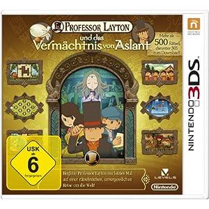 Professor Layton und das Vermächtnis von Aslant – [Nintendo 3DS]