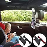 Best Phone For Kids - FUTESJ Rotated Car Seat Headrest Mount, Universal Car Review