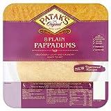 Patak's 8 Plain Pappadums, 64g