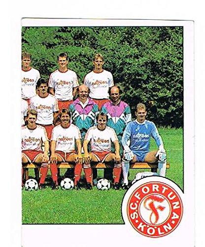 No.406 SC Fortuna Koln Team - Part 2 - Team Group - Fussball 90 - Panini