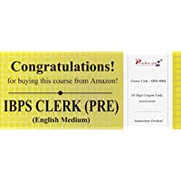 Practice Guru Topic Wise Tests For IBPS CLERK (PRE) (Voucher)