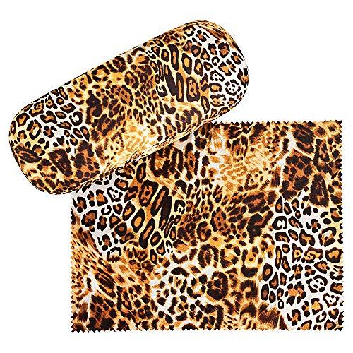 VON LILIENFELD Brillenetui Geschenk Motiv Damen Herren Leopard Animal Print