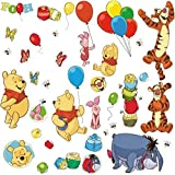 RoomMates RMK1498SCS RM - DISNEY Winnie Puuh und Freunde Wandtattoo, bunt, 29 x 13 x 2.5 cm