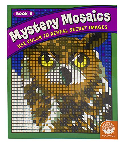 Mystery Mosaics Coloring Book 3