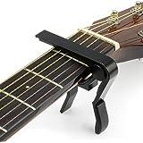 Capodastre pour guitare Maniable d'une seule main Convient pour presque toutes les guitares