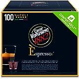 Caffè Vergnano 1882 Èspresso Caffè, Confezione da 100 Capsule