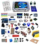 Quad Store (™) Ultimate Kit for Arduino - Package includes: 1 x Quaduino Uno R3 board (High Quality Arduino-Compatible Board) + 1 x USB cable1 x GPIO Extension Board + 1 x Connecting Cable1 x Breadboard 830 Tie Points 1 x Mini Solderless Prototype Br...