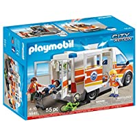 Playmobil 5541 City Action Coast Guard Ambulance with Lights and Sound