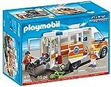 Playmobil Guardacostas - Ambulancia con sirena, playset (5541)