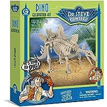 Dr. Steve Hunters CL1667K - Dino Excavation Kit, Stegosaurus Skeleton