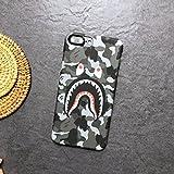 Bape A Bathing Ape iPhone Case (iPhone 7+ / 8+, Light Grey)