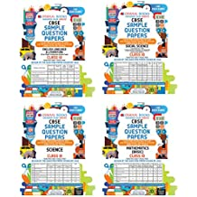 Oswaal CBSE Sample Question Papers Class 10 English, Science, Social Science, Mathematics (Set of 4 Books)