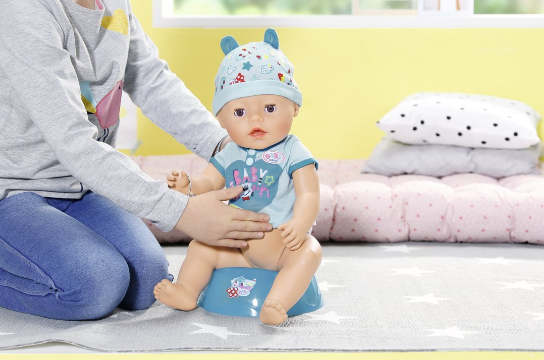 528200abf Baby Born 824375 Soft Touch-Boy Interactive Function Doll