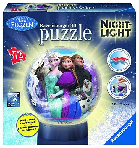 Ravensburger - 12190 - Disney Frozen Lampada Notturna Puzzle 3D