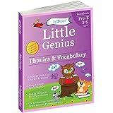 Phonics & Vocabulary: Pre Kindergarten Workbook (Little Genius Series): Learn Pronunciation of Short & Long Vowels, Consonant