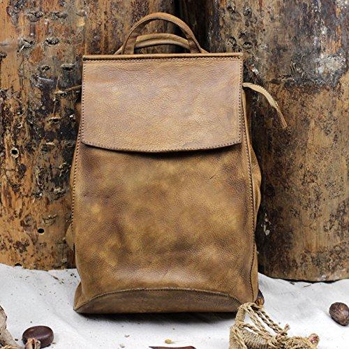 Sac à bandoulière en cuir vintage sac à main loisirs art artisanal original sac à bandoulière en cuir Camel