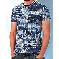 Boxing Club - Camouflage Tee Shirt Bi Elastica, Urban Street