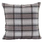 Ouneed Fashion Lattice Sofa Bed Home Decor Pillow Case Cushion Cover (Grey)