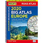 2020 Philip's Big Road Atlas Europe: (A3 Spiral binding) (Philip's Road Atlases) 13