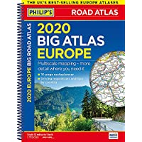 2020 Philip's Big Road Atlas Europe: (A3 Spiral binding) (Philip's Road Atlases) 15