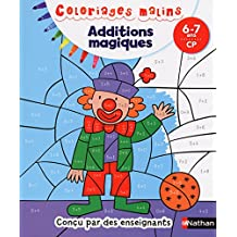 Coloriages Malins - Additions magiques CP