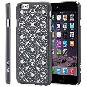 "iPhone 6 Plus / 6S Plus Case - VENA [TACT] Ultra Slim Fit Hard Polygon Design Pattern Cover for Apple iPhone 6 Plus / 6S Plus (5.5"") - Black"