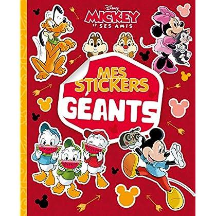 MICKEY ET SES AMIS - Mes Stickers Géants - Disney