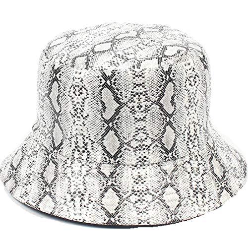 Yvelands Doppelseitige Abnutzungs-Schlangenkorn-Fischer-Hut-Sonnenschutz-im Freienkappe des Erwachsenen Unisex