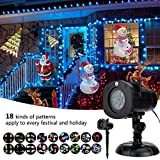 Best Landscape Lights - Christmas Decoration, Halloween Projector, 12 Mode Rotating Projector Review