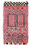 Trendcarpet Tappeto Berberi dal Marocco Boucherouite 240 x 130 cm
