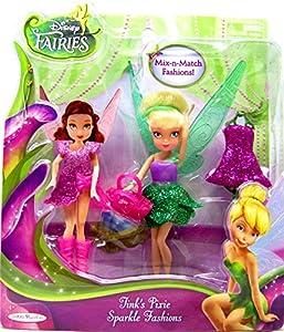 """Disney Fairies Tink's Pixie Sparkle Fashion Doll 4 1/2"""""""