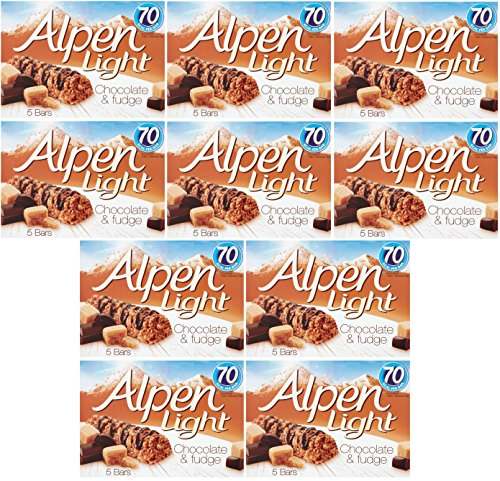 Alpen light buy alpen light products online in uae dubai abu alpen light chocolate fudge 5 bars of 95g pack of 10 aloadofball Image collections