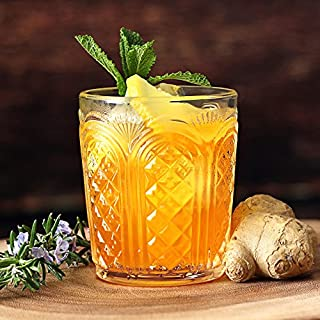 Astor Vintage Tumblers 340ml / 12oz - Set of 4 - Double Old Fashioned Whisky Rocks Glasses