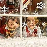 Weihnachtsdeko, Weihnachten Fensterdeko Set, DIY Weihnachtsdeko Schneeflocken Aufkleber Kinder, Winter Dekoration für Türen, Schaufenster, Vitrinen, Glasfronten, PVC Fensterdeko Set und mehr für Weihnachtsdeko, Weihnachten Fensterdeko Set, DIY Weihnachtsdeko Schneeflocken Aufkleber Kinder, Winter Dekoration für Türen, Schaufenster, Vitrinen, Glasfronten, PVC Fensterdeko Set und mehr