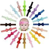 Vendas del Pelo de la Venda de Las Muchachas del bebé del Bowknot de la Cinta del Grosgrain Stretch para los niños pequeños 2