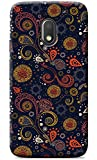 Fashionury™ Premium Quality Printed Back Cover For Moto E3 Power