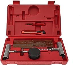 HAFIX Profi Reifenreparatur Set Profi Reifen Repair Reparaturset Pannenset Reifenpanne Flickzeug 37 tlg