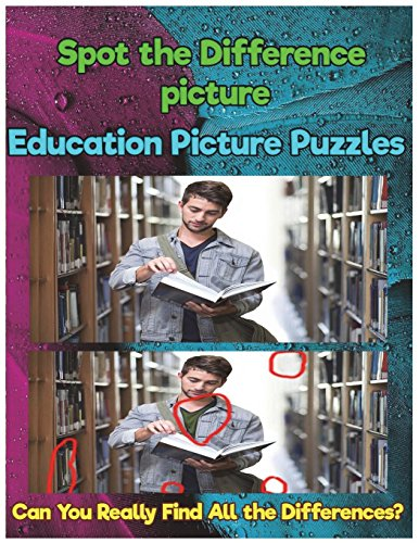 Spot the Difference picture Education Picture Puzzles: Can You Really Find All the Differences? por Johnnie Tucker