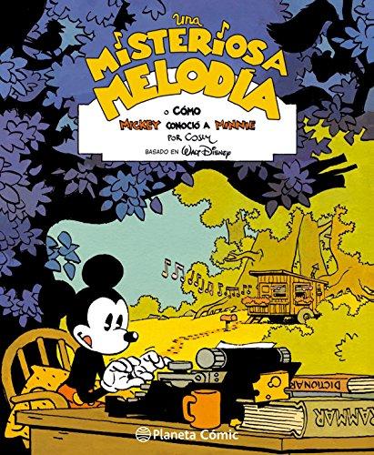 Mickey Una misteriosa melodía: o cómo Mickey conoció a Minnie (BD - Autores Europeos)