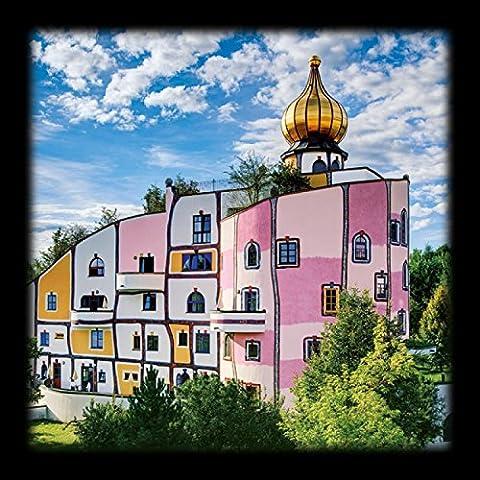 Friedensreich Hundertwasser - Posters: Friedensreich Hundertwasser Poster Reproduction - Thermendorf,