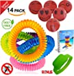 PREMIUM Mosquito Repellent Bracelets 14 Pack Up to 300 Hours-Botanical Essences - BONUS eBook + 6x Repellent Sticker Patch + Repellent Wristband Band, All Natural, Deet Free KEEP MOSQUITOES AWAY NOW!