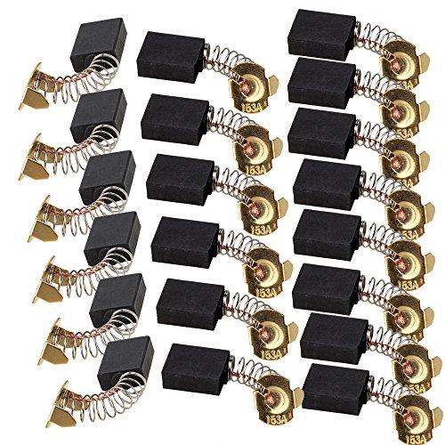 cnbtr 20 PCS 6 x 13 x 16 mm Elektrische Carbon Brushs Ersatz für Elektromotor -