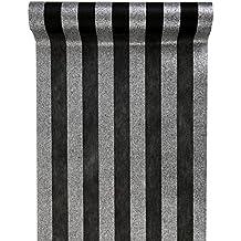 suchergebnis auf f r stoff schwarz weiss gestreift. Black Bedroom Furniture Sets. Home Design Ideas