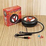 Amandy Tragbarer Reifenfüller, 12V Luftkompressor-Reifen-Pumpe, 5 Minute Reifen-Inflation, 19 Zylinder Mini-Pumpe Auto-aufblasbare elektrische Pumpe [Energieklasse A +]