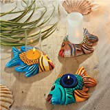Giessform Kerzenhalter Fische Kerzenhalter 13,5 cm